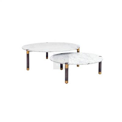 mid century modern marble coffee table